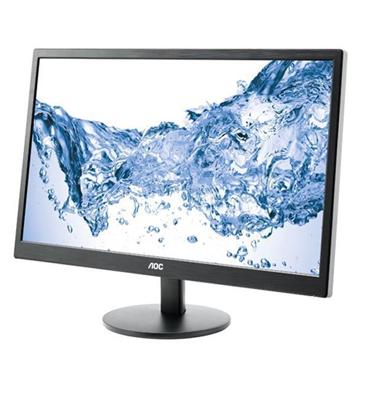 """מסך מחשב 23.6"""" LED ברזולוציה 1920x1080 מבית AOC דגם E2470SWHE"""