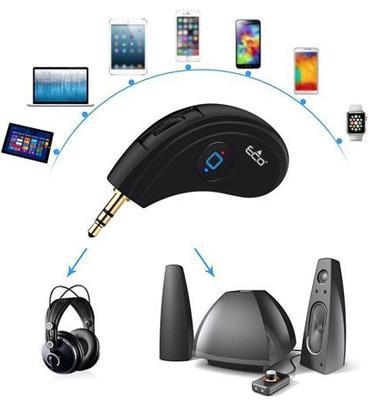 מקלט אודיו בלוטוס אלחוטי למוסיקה ושיחות טלפון מבית ECO דגם ECO009