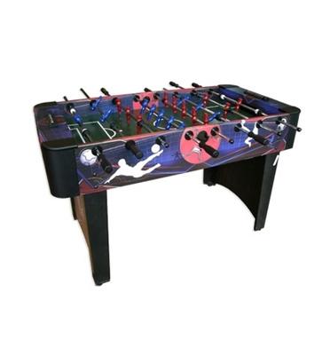 שולחן כדורגל ביתי גדול ומאסיבי עם מוטות חלולים מבית Superleague דגם AGRESSOR