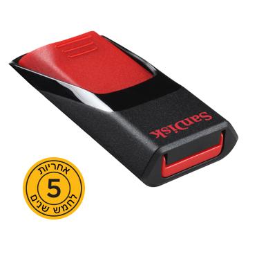 זיכרון נייד Disk On Key Cruzer Edge™ USB Flash Drive 16GB מבית SanDisk דגם SDCZ51-016G-B35