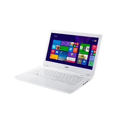 """מחשב נייד 13.3"""" דק קל בצבע לבן פנינה 8GB Inte® Core i7 תוצרת ACER דגם Aspire V3-372-71PM"""