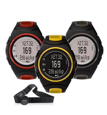 שעון דופק מספק נתונים פיזיולוגיים ברמת מעבדה בסוף כל אימון תוצרת Suunto דגם t6d