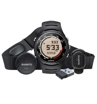 ערכת ריצה המסופקת יחד עם Foot Pod שעון הטריאתלון, האופניים והריצה תוצרת Suunto דגם t6d