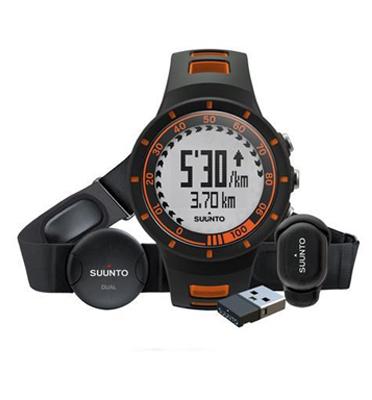 ערכת ריצה מספקת נתוני מהירות ומרחק מדוייקים תוצרת Suunto דגם Quest Orage