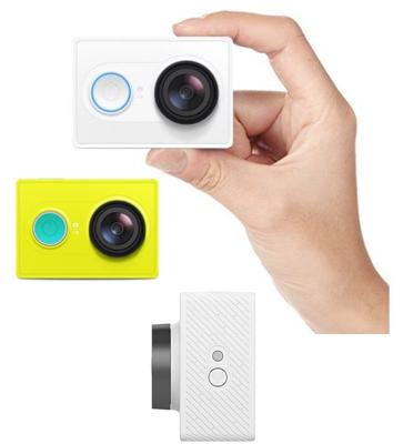 מצלמת אקסטרים מתקדמת מבית Yi בעלת מעבד תמונה מתקדם דגם  Action Camera