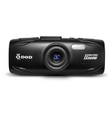 מצלמת הרכב החדישה עם איכות צילום גבוהה במיוחד+כרטיס מיקרו 8 גיגה במתנה תוצרת DOD דגם DOD360W