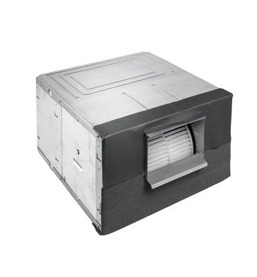 מזגן מיני מרכזי אינוורטר 42,000BTU תלת פאזי תוצרת תדיראן דגם WIND INVERTER 50/3