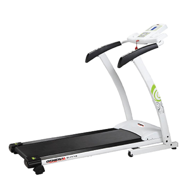 """מסלול ריצה דגם חדש !!מבית general fitness שיפוע מכני 3 מצבים רוחב 42 ס""""מ 6 כ""""ס דגם slim 43"""