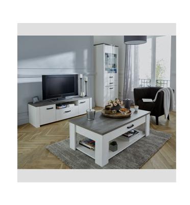 סט מזנון ושולחן בגימור מודרני תוצרת אירופה מבית HOME DECOR דגם מרקיז