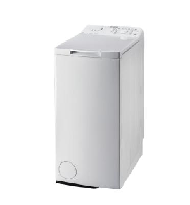 """מכונת כביסה פתח עליון 6 ק""""ג 1,000 סל""""ד תוצרת INDESIT דגם ITWA61052W"""