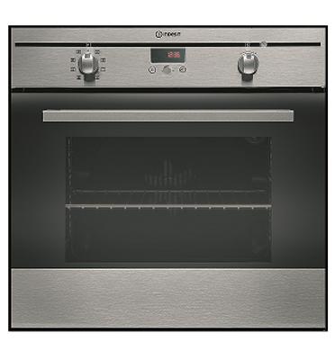 תנור אפיה בנוי פירוליטי 8 תוכניות בגימור נירוסטה תוצרת INDESIT דגם FIM88KGPAIX
