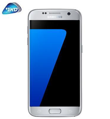סמארטפון מסך 5.1 32GB תוצרת SAMSUNG דגם GALAXY S7 G930F + מגן זכוכית מתנה