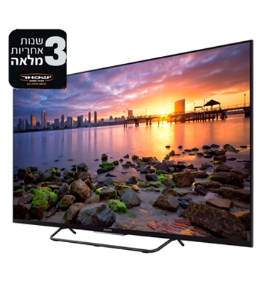 """טלוויזייה EDGE LED SMART TV """"32 - בעיצוב מיוחד תוצרת SONY דגם KDL-32W705CBAEP"""