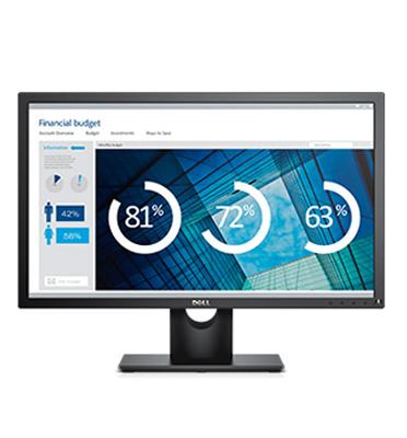 """מסך בגודל 24"""" בעל תצוגה ברורה באיכות Full HD תוצרת Dell דגם E2416H"""