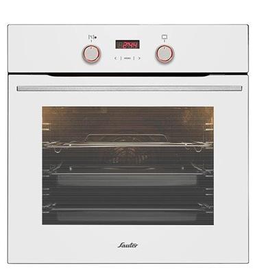 תנור אפייה בנוי מולטיסיסטם חדשני ויוקרתי! 10 תוכניות בישול ואפייה תוצרת Sauter דגם SAI1060W