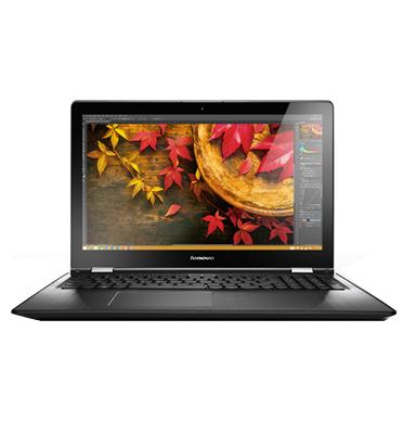 """מחשב נייד מסך מגע 15"""" 8GB מעבד Intel Core I5 תוצרת Lenovo דגם YOGA 500-15 - 80R6001TIV"""