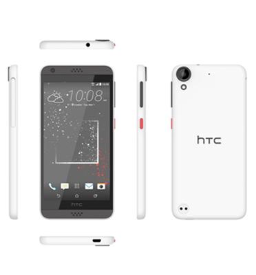 """סמארטפון מסך 5"""" 16GB מעבד 4 ליבות תוצרת HTC דגם Desire 530"""