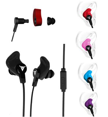 אוזניות מעוצבות בהתאמה אישית מבית Decibullz דגם Decibullz Contour
