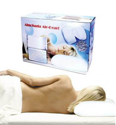 תתחילו להנות עם כרית השינה Air Pearl המספקת תמיכה מושלמת לראש,צוואר ולכתפיים דגם 1001127