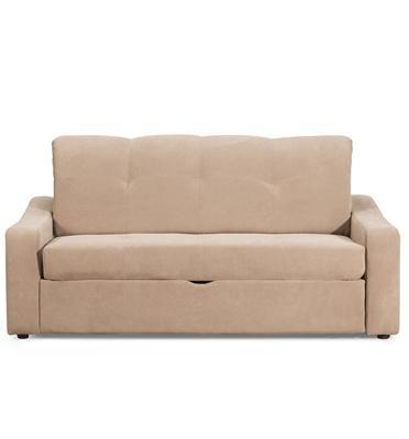 ספה נפתחת למיטה זוגית עם ארגז מצעים תוצרת BRADEX דגם CASSANDRA-2
