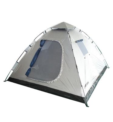 אוהל פתיחה מהירה ל 4 אנשים - ניתן לשדרג ל-6 אנשים - מבית CAMPTOWN דגם INSTANT 12507