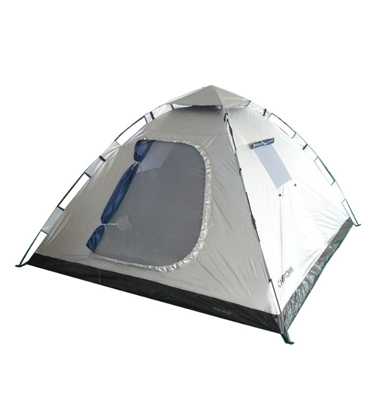 אוהל גדול ל-6 אנשים בעל 4 כיווני אוויר ואריג דוחה שמש CAMPTOWN דגם INSTANT 85068