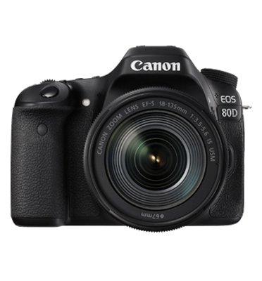 מצלמה רפלקס DSLR גוף בלבד תוצרת CANON דגם EOS 80D