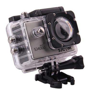מצלמת אקסטרים Full HD עם WiFi, עמידות למים +אביזרים מבית SJCAM דגם SJ4000 + מתנה סוללה נוספת