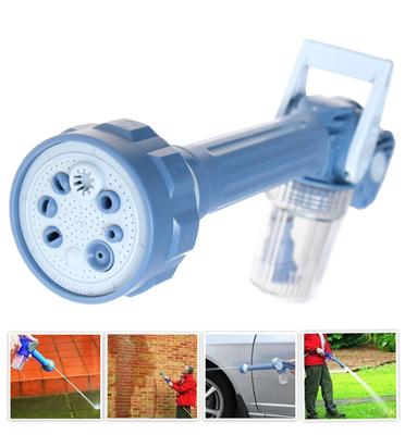 תותח סילון מים עם 8 מצבים לכל שימוש אפשרי בבית ובגינה EZ Jet Water דגם 1003140