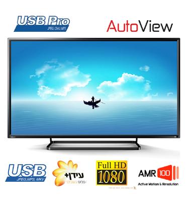 """טלוויזיה 49"""" LED Full HD TV 100 Hz AMR תוצרת TOSHIBA דגם 49S2640"""
