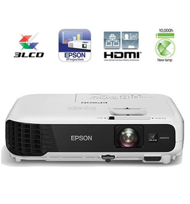 מקרן Epson באיכות גבוהה מתאים לבית ולמשרד תוצרת EPSON דגם EB-S04