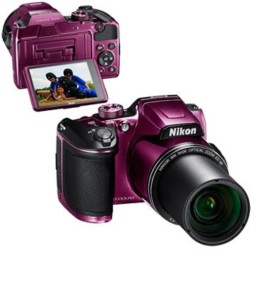מצלמת 16MP דמוי DSLR חיישן CMOS זום X40 תוצרת NIKON דגם COOLPIX B500