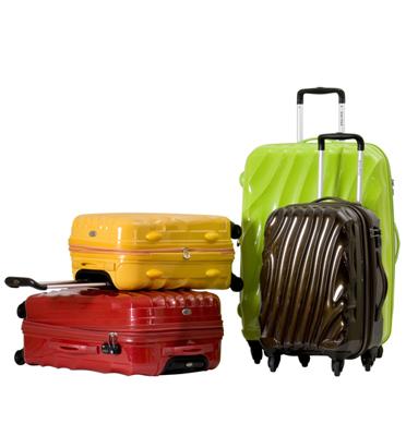 סט מזוודות קשיחות 3 יח' | 28 | 24 | 20 אולטרה לייט מבית Calpak דגם Romo