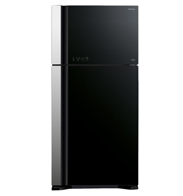 מקרר 2 דלתות בנפח 552 ליטר מפואר בעיצוב חדשני No Frost תוצרת HITACHI דגם RVG660GBK