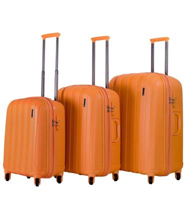 סט מזוודות קשיחות 3 יח' | 30 | 26 | 22 מבית Calpaks דגם Paradis