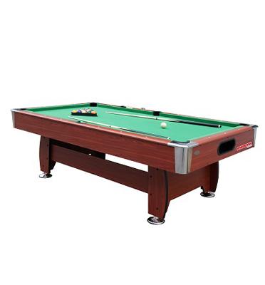 שולחן סנוקר דגם במידה 8 פיט מקצועי מסיבי במיוחד בעיצוב עץ מרהיב מבית ENERGYM דגם b9182