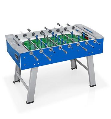שולחן כדורגל לשימוש חוץ בעל משטח זכוכית משוריין מבית fas איטליה! דגם smart outdoor