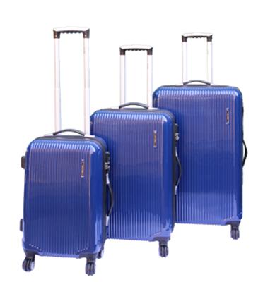 סט מזוודות קשיחות 3 יח' בגודל | 28' | 24' | '20 מבית Calpaks דגם Lancaster