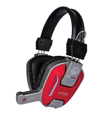 אוזניות סטריאו כולל מיקרופון מובנה לגיימינג מוסיקה ולסמארטפון. מבית MARVO דגם H8952