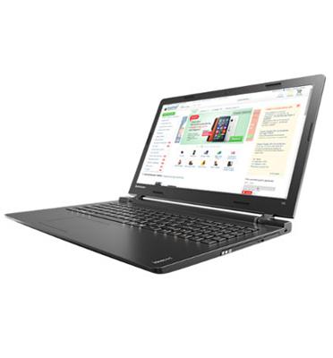 """מחשב נייד """"15.6 4GB מעבד Intel Celeron תוצרת LENOVO דגם 100-15IBY-2U-W10"""