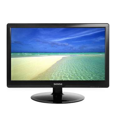 """מסך מחשב בגודל 18.5"""" LCD WIDE מבית SENSE דגם M989C"""