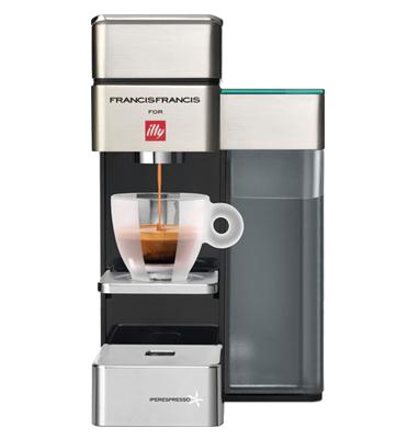 """מכונת קפה רב תכליתית תוצרת ILLY דגם  Y5+ מתנה: 100 ש""""ח לרכישת קפסולות"""