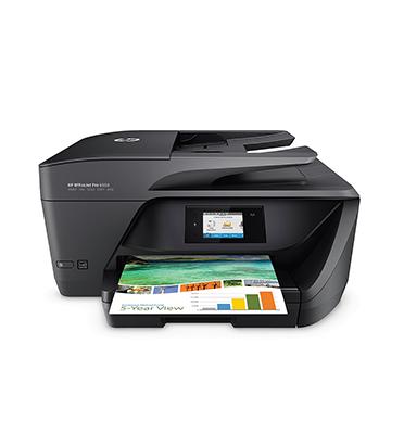 מדפסת אלחוטית מסך מגע כולל סריקה, העתקה ופקס תוצרת HP דגם 6960
