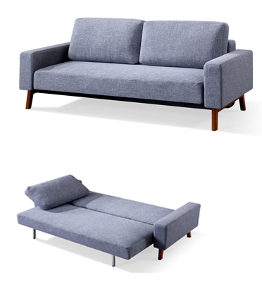 ספה נפתחת למיטה זוגית בשלושה צבעים לבחירה מבית BRADEX דגם JACY
