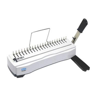 מכונת כריכה בספירל פלסטיק תוצרת DSB דגם CB-80
