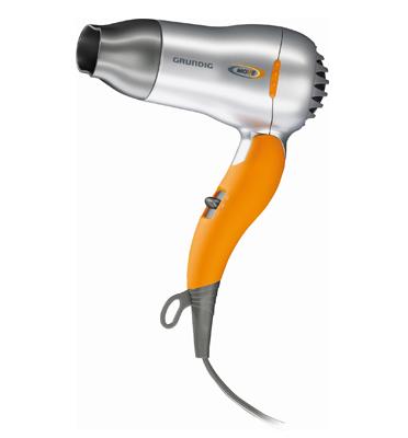 מייבש שיער מתקפל לטיולים תוצרת GRUNDIG דגם HD2509