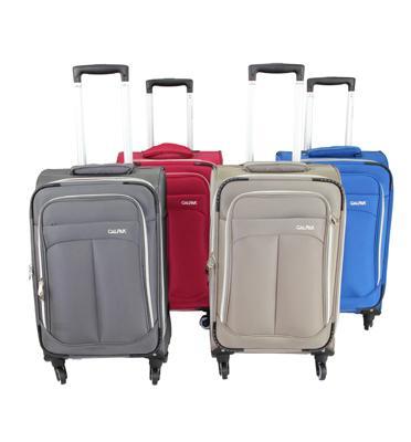 סט מזוודות בד 3 יח' | 28 | 24 | 20 מבית Calpaks קלות משקל במיוחד! דגם Chatsworth