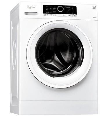 """מכונת כביסה 9 ק""""ג 1,200 סל""""ד בטכנולוגית החוש השישי תוצרת Whirlpool דגם FSCR90211"""