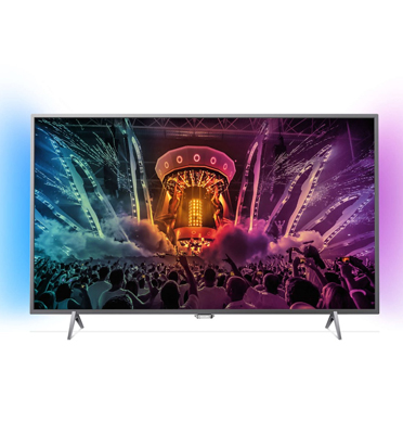 "טלוויזיה 55"" LED Android TV- 4K Ultra HD תוצרת PHILIPS דגם 55PUS6401"