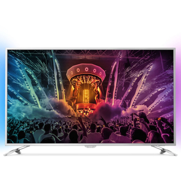 "טלוויזיה 55"" LED 4K SMART ANDROID , עידן+ תוצרת PHILIPS דגם 55PUS6501"